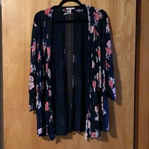Maurices Open cardigan